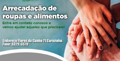 CAMPANHA DO AGASALHO E ALIMENTOS