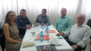 Almoço na ACIC, palestra do governador Ivo Sartori